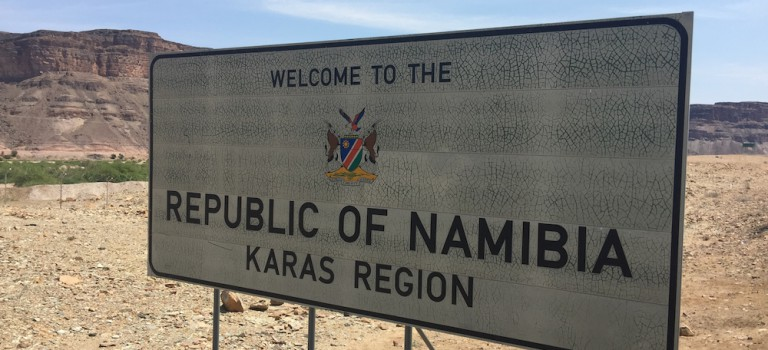 Heiß, heißer Namibia !!!